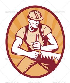 VECTOR DOWNLOAD (.ai, .psd) :: http://vector-graphic.de/pinterest-itmid-1001645272i.html ... Sawyer Lumberjack Sawing Crosscut Saw ...  crosscut saw, cutting, illustration, industry, log, logger, lumberjack, man, retro, sawing, sawyer, tree, vector  ... Vectors Graphics Design Illustration Isolated Vector Templates Textures Stock Business Realistic eCommerce Wordpress Infographics Element Print Webdesign ... DOWNLOAD :: http://vector-graphic.de/pinterest-itmid-1001645272i.html