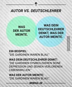 Autor vs. Deutschlehrer | Webfail - Fail Bilder und Fail Videos