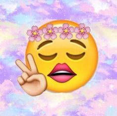 how to get the peace sign emoji on snapchat