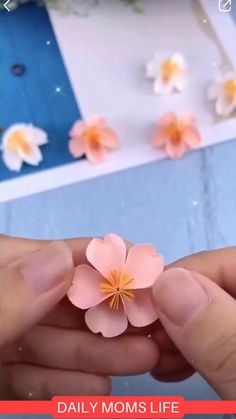 Paper Flower DIY - DIY and Crafts - How to make fancy paper flowers. Diy Crafts Hacks, Diy Crafts For Gifts, Diy Home Crafts, Diy Arts And Crafts, Creative Crafts, Crafts For Kids, Best Crafts, Kids Diy, Creative Ideas