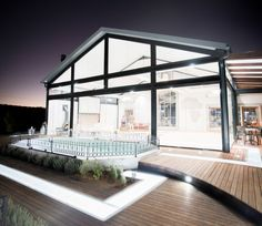 L'avenier-0467 South African Weddings, Glass Door, Rooftop, Wedding Venues, Building, Beautiful, Design, Wedding Reception Venues, Rooftops