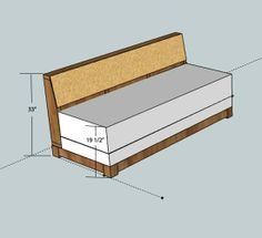DIY couch that pulls out into a bed... idea for the office?.