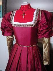 1540s Italian Renaissance Gown