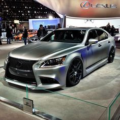 Five Axis Design Lexus LS460 at the Chicago Auto Show    Photo by Instagram user super1_7