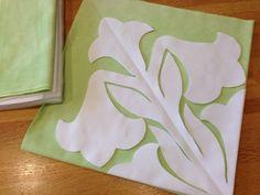 День за днем Мэг и гавайская лоскутного гавайской одеяле