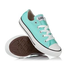f5fc814816244f Converse All Star Ox Girl Shoes - Aruba Blue