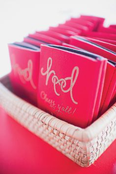 custom koozies | Tim Will #wedding