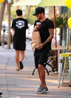 David Beckham settles back into his healthy LA lifestyle | Daily Mail Online