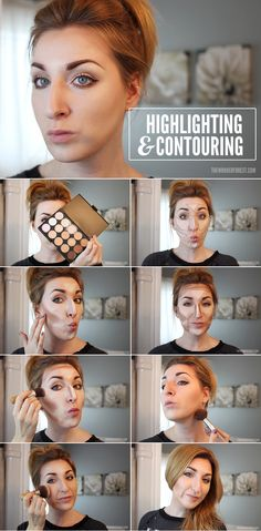 Ideas makeup tutorial contouring nose Ideen Make-up Tutorial Konturierung Nase Tutorial Contouring, Le Contouring, Contouring And Highlighting, Contour Makeup How To Do, How To Blend Contouring, How To Contour Your Face, Contour Face, Beauty Make-up, Beauty Secrets