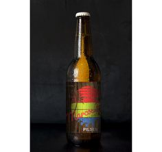 Rótulo para minha cerveja artesanal personalizada que criei usando o site beerlab.co
