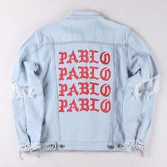 Levis Pablo Denim Jacket NEW - Custom made
