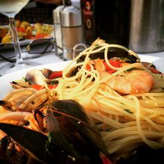 #Italy #seafood #pasta