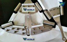 Tensile fabric structure membrane plates and anchor details.