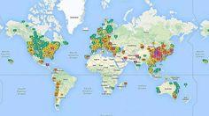 En este mapa virtual puedes ver en tiempo real la contaminación del aire en tu ciudad