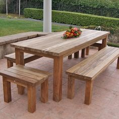 simple square cedar outdoor dining table do it yourself home rh pinterest com best outdoor wood furniture stain best outdoor wood furniture protection