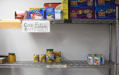 It's a tough time of year for local food banks. #localfood