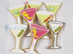 images of martini glass cookies | Martini glass cookies | Flickr - Photo Sharing!