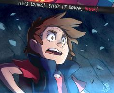 Finally, fanart to Not What He Seems. Easily the most heartbreaking moment in the series so far  Tumblr hates big files so I had to cut it into two parts. Pretty symbolic that Dipper is cut off from Stan and Mabel if you think about it…