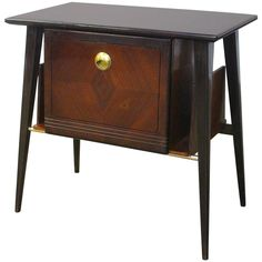 Beautiful Italian Side or End Table | From a unique collection of antique and modern side tables at https://www.1stdibs.com/furniture/tables/side-tables/