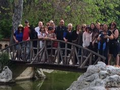 The Peoplehood 3 Cohort - on bridge in Greece.