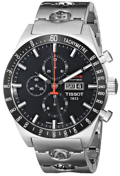 Amazon.com: Tissot Men's T0446142105100 T-Sport PRS516 Automatic Black Day Date Dial Watch: Tissot: Watches