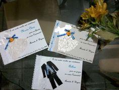 Meus convites para as #damas e pagens  #casamento #convites #wedding