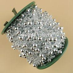 Silver Super Pearl Bead Garland