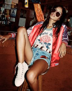 The new cool girl essential is the bomber jacket, according to Nasty Gal. Sporty and casual, this piece can be the perfect addition to just about any outfit. Wear over a cute dress for a tomboy inspired ensemble or pair with some torn denim for that rocker chic look. From pink satin to embroidered backs, …