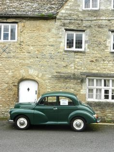 Morris Minor...OMG!!!  We had one JUST like this one when we lived in Chalfont St. Peter!!!!!