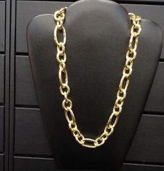 #Gold #Chain #Necklace with Matching #Bracelet!  #JewelrySet