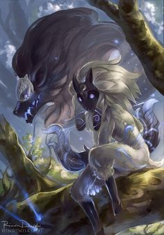 Kindred ^0^  -League of legends http://www.helpmedias.com/leagueoflegends.php