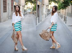 Stripes (by Zina CH) http://lookbook.nu/look/2184183-Stripes