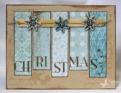 Pretty christmas card - looks pretty simple too!