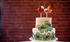 Love Birds... Sweet Wedding cake.