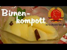 Birnenkompott (von: erichserbe.de) - Essen in der DDR: Koch- und Backrezepte für ostdeutsche Gerichte | Erichs kulinarisches Erbe