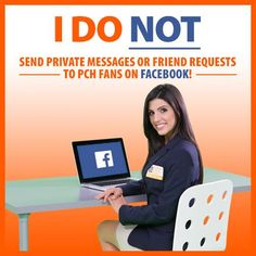 Prize Patrol does not send friend requests on Facebook