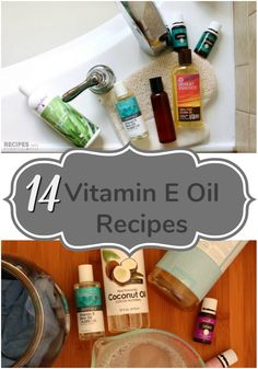 Vitamin e Oil is wonderful as a carrier oil and is perfect for the skin. Get our best 14 Recipes Using Vitamin E Oil. Essential Oils Guide, Essential Oils For Hair, Essential Oil Uses, Young Living Essential Oils, Vitamins For Skin, Daily Vitamins, Energy Vitamins, Vitamin E Uses, Vitamine E Oil