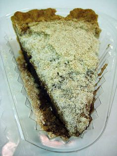 Pennsylvania Dutch Shoofly Pie from Lancaster County, PA. Sold @pageneralstore www.pageneralstore.com.
