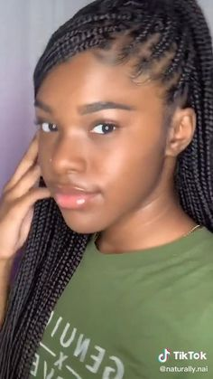 Box Braids Hairstyles For Black Women, Cute Braided Hairstyles, African Braids Hairstyles, Braids For Black Hair, Twist Hairstyles, Best Braid Styles, Kim Kardashian, Colored Box Braids, Box Braids Styling