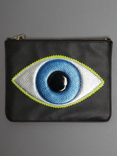 Add a touch of #Halloween to your wardrobe with this whimsical eyeball clutch. #fashion