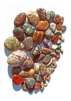 Pretty stones like this need to be incorporated into some sort of design project. Wedding invites?