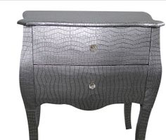 Kingdeful stocks an extensive range of Silver Nightstand for exporting. As a trusted exporter, Kingdeful is specialized in a full line of long lasting french bedside tables with long lifespan. Silver Nightstand, French Bedside Tables, Ottoman, Custom Design, Website, Chair, Phone, Furniture, Vintage