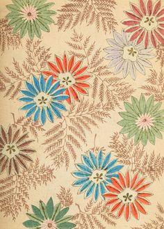 Shin Bijutsukai - #textile #floral