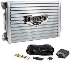 Boss Armor AR1200 2 1200 Watt 2 Channel Car Audio Amplifier Amp Level Remote   eBay
