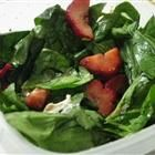 Strawberry and Spinach Salad with Honey Balsamic Vinaigrette Recipe
