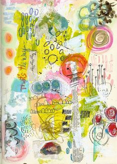 Roben-Marie Smith   Art Journal Page - THE WAY   Roben-Marie Smith   Art Journals