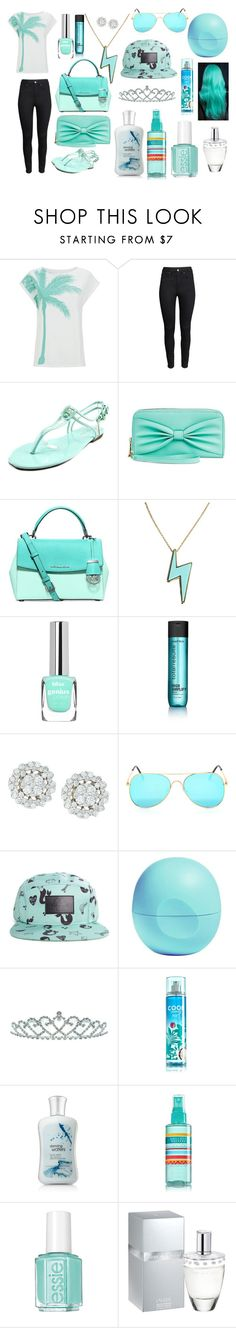 """""""Paradise"""" by keke554 ❤ liked on Polyvore featuring beauty, H&M, CL by Laundry, Michael Kors, Marc by Marc Jacobs, Matrix Biolage, Valfré, Eos, Disney and Kate Marie"""