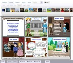 Storyboard That - great site for creating storyboards and digital storytelling w/ educational portal