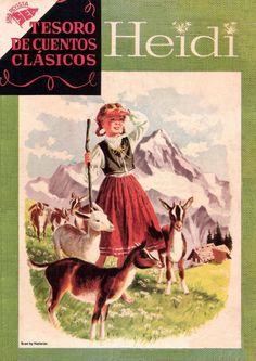 Heidi, Tesoro de cuentos clásicos, nº 03, Editorial Novaro