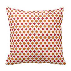 Red and Orange Diamond Pillow 25% OFF SITEWIDE     Memorial Day Savings Are Here!     Use Code: MEMORIALSALE     Ends Monday